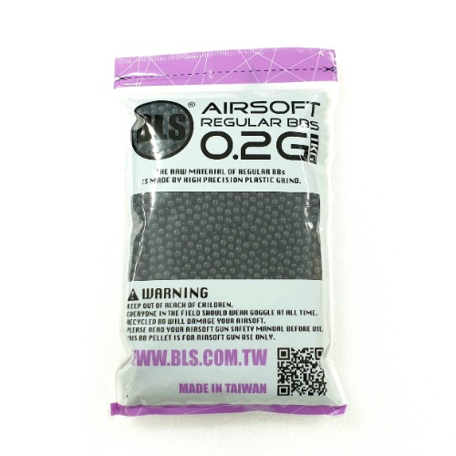 BLS Black 0.2g BB 5,000발(1Kg Pack)