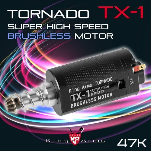 Tornado TX-1 Super High Speed Brushless Motor