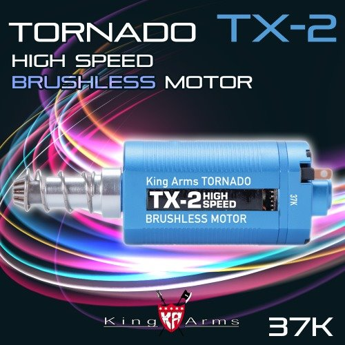 Tornado TX-2 High Speed Brushless Motor