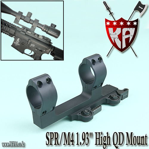 "SPR / M4 1.93"" High QD Mount"