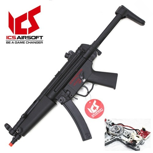 ICS CES-P S3 Retractable Stock (MP5A5 Full Metal AEG_)